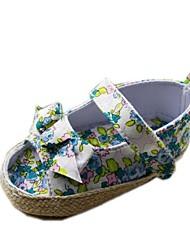 Chaussures bébé - Bleu / Multi-couleur - Décontracté - Coton - Plates