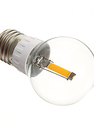 MLSLED E26/E27 1.5 W 1 COB 75-85 LM 2700-3500 K Warm wit Bollampen AC 220-240 V