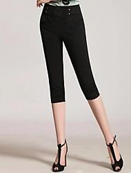 Pantalons pour Femmes  (Polyester) Slim/Harem - Fin - Elastique