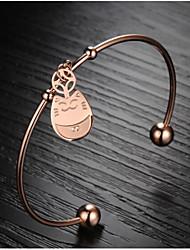 z&la mode x® Totoro Bracelet chanceux plaqué or 18 k mosaïque