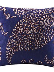 A Huge Leaf Cotton/Linen Decorative Pillow Cover