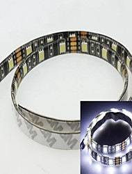 1M 5730/5630smd 60led cool white 15W 7500-9000K 900-1000LM DC12V IP65 Waterproof LED Strip