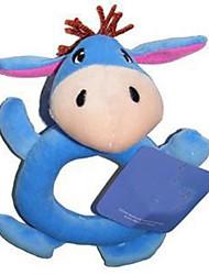 novo bebê forma arredondada burro chocalhos brinquedos para atividade berço carrinho de bebê brinquedos de pelúcia