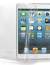 capinha dura de proteção transparente de alta qualidade para o mini ipad 3, mini ipad 2, mini ipad