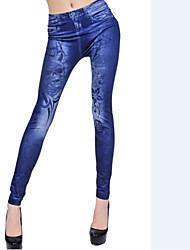LEGGINGS - Jeans Poliestere/Spandez