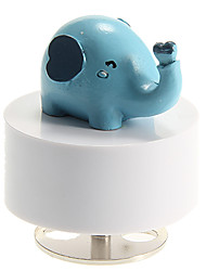 Little Elephant Pattern Revolving Music Box Toys