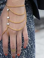 shixin® talão clássico forma borla charme pulseira de ouro (1 pc)