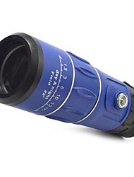 3963 16x52 Blue Handy Portable 16X Monocular Single-Tube Telescope w/ boussole / compas