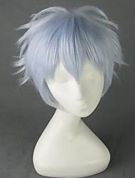 Hoozuki no Reitetsu Nasubi Light Blue White Short Cosplay Wig + Free Wig Cap