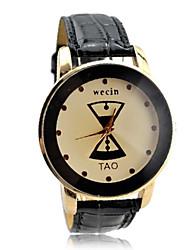 Dames Casual Dial pu analoge quartz horloge (verschillende kleuren)