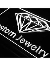 j377 Custom Jewelry Shop Diamond NEW Neon Light Sign