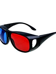 azul vermelho lados esquerdo e direito da tela dividida óculos 3D para computador