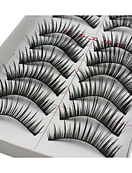 Eyelashes lash Eyelash Lengthens the End of the Eye Volumized / Natural Fiber