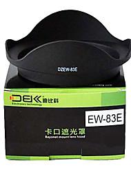 dbk ew-83e cobertura da lente para ew-83e ef-s 17-40mm f / 4l usm