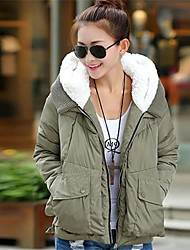 Women's Brief Paragraph Down Jacket Loose Cotton