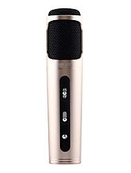 K058 micrófono grabado profesional para iphone / teléfono móvil / ordenador