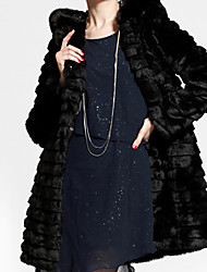 XT Fox Fur Coat_136 (Black)