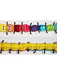 bebê forma lagarta musical brinquedos chocalho para a atividade berço carrinho de bebê brinquedos de pelúcia