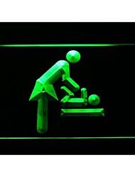 I1044 vestuario bebé signo luz de neón
