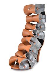 до н.э. Новинка женского насоса пятки сандалии загрузки