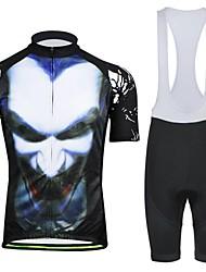 hommes printemps-été et mr de style d'automne. tasses manches courtes noir costumes cuissard de vélo avec poche