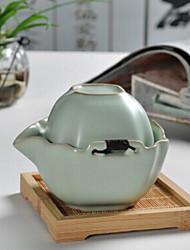 stile cinese della porcellana piazza insieme di tè, 1 pc teiera, 1 pc tazza di tè