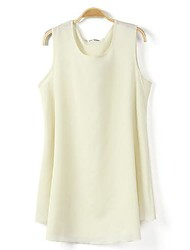 Camiseta (Chifon) Casual - Fina - Padrão