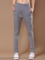 Women's Black/Gray/Green Active/Loose Pants , Casual