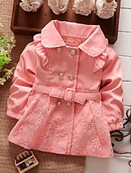 Children's Coat Lovely Cotton Lace Kids Clothing Spring Girls Autumn Jackets
