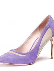 Women's Shoes Pointed Toe Stiletto Heel Leather Heels Shoes More Colors available