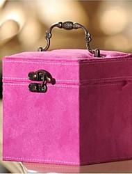 scatola fhree strati Cosmetici flanella (consegna colore casuale)