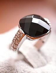 dk&bague en cristal de pierre gemme carrée y