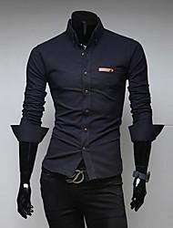 Men's Slim Long Sleeve Shirts