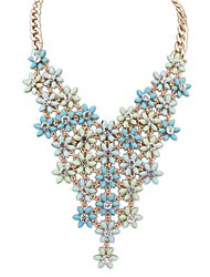 European Style Fashion Beautiful Fresh Flower Necklace(More Colors)