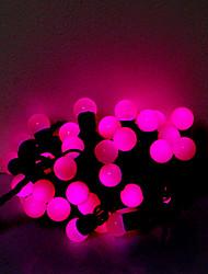 5m 50 leds Halloween Noël de fête des lumières décoratives de perles violettes bande feux-légers (220v)