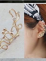 Earring Ear Cuffs Jewelry Alloy Gold / Silver