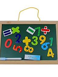Double-sided Magnetic Wooden Board  for Children's Puzzle Toys