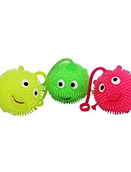 Holiday Toys Rubber Elastic Flash Out Fur Ball (Random Color Delivery)