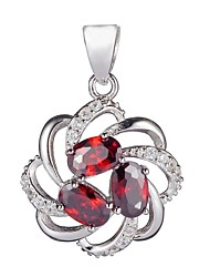 Fashion 925 Sterling Silver Cubic Zirconia Pendants