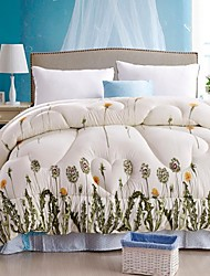 Shuian® Comforter Winter Quilt Keep Warm Thickening  Quilts with Printing Dandelion Pattern