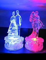 les amateurs de danse de lumière la nuit conception en plastique (x1pcs de couleur aléatoire)