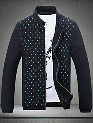 SMR Men's Fashion Stand Collar Jacket_5769
