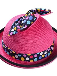 Unisex Fashion Big Bowknot Flanging Sun Hat