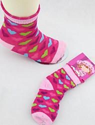 patrones de dibujos animados calcetines de la muchacha