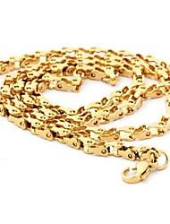 Herrenmode alle Spiel Titan Stahl Halskette