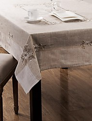 Table Cloths Classical Embroidery Tablecloth 135*175cm