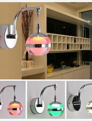 LED Intégré Moderne/Contemporain Fonctionnalité for LED Ampoule incluse Applique murale