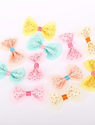 Wedding Décor Cute Bow Decortion(Set of)Mixed Colors