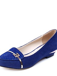 Women's Shoes Low Heel Leather Pumps with Rhinestone Shoes More Colors available