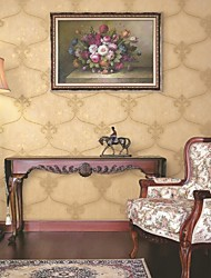 mur papier mural, papier peint de papier pur classique